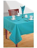 SWAYAM Cotton 8 Piece Kitchen Linen Set - Aqua Blue