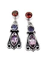 Admyro Latest Design Earring-Silver Earring-Partywear Earring-Designer Earring-AZE993