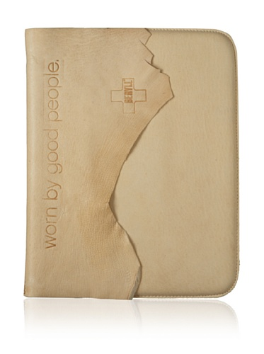 +Beryll Raw Men's iPad Sleeve (Sand)