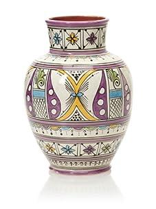 Hand-Painted Vase (Multi)