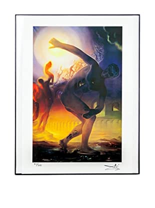 Salvador Dalí Poetry of America, Cosmic Athlete Framed Limited Edition