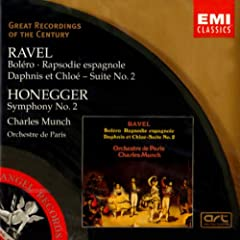 Ravel &amp; Honegger : BOLERO/RAPSODIE ESPAGNOLE/SYM 2REMASTERED)