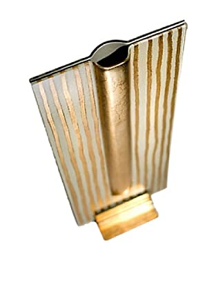 FusionZ Rectangular Vase (Gold/Pearl/White)