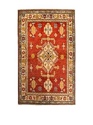 QURAMA Teppich Kazak rot/beige/denim
