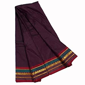 Kanchipuram DN29KG087 French lilac Color Silk Saree