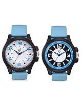Rico Sordi Men's 2 Foux leather watch (RSD162_WW)