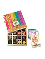 Sweet Birthday Memories With Birthday Card And Mug - Chocholik Belgium Chocolates
