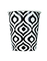 9oz Moroccan Ikat Paper Cups, 6ct