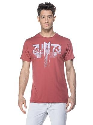 Zu-Elements Camiseta Seneca (Rojo Lavado)