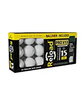 Reload Recycled Golf Balls Titleist Pro v1X Refurbished Golf Balls with Ball Liner (15 Pack)