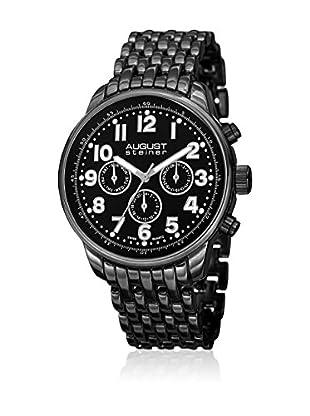 August Steiner Uhr mit Schweizer Quarzuhrwerk AS8147BK 42.5 mm