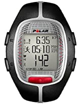 Polar RS300X Heart Rate Monitor Watch (Black/Grey)