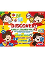 Frank Discover Early Learner Pack 2, Multi Color