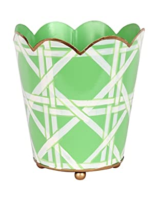 Jayes Cane Green Decorative Cachepot