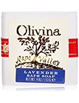 Olivina Bath Soap, Lavender, 4 Ounce