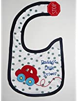 Carter's Daddy's Little Driver Baby Bib (Unisex)