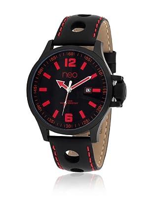Neo Uhr mit Japanischem Uhrwerk 15894618 schwarz 45 mm
