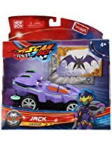 Funskool - Scan 2 Go Battery Operated Toy Racer Car Vambat Purple