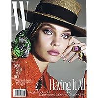 W Magazine June - July 2017 小さい表紙画像