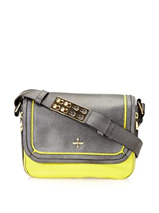Pour La Victoire Women's Alsace Shoulder Bag (Lemon)