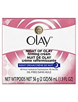 Olay Night Of Olay Firming Cream 2.0 Oz (Pack of 3)