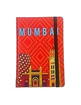 Mumbai Cityscape Orange Journal