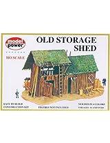 Model Power HO Scale Building Kit - Old Storage Shed