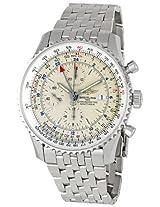 Breitling Men's A2432212/G571 Navitimer World Chronograph Watch