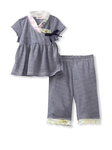 Jupon Baby Adele Kimono & Pants Set (Blue)