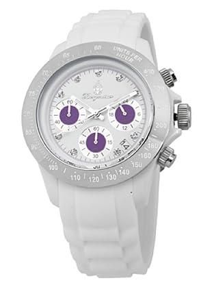 Burgmeister Damen-Armbanduhr Chronograph Quarz Silikon BM514-586B