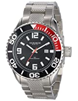 Akribos XXIV Men's AK511SS Explorer Stainless Steel Large Diver's Watch