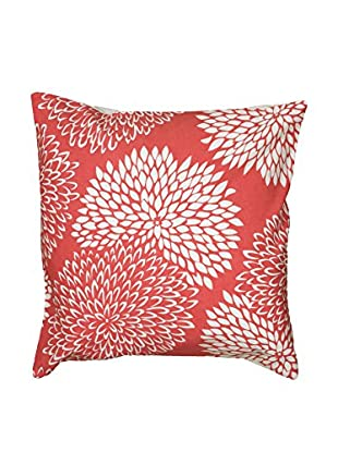 Rizzy Home Coral Field of Dreams Throw Pillow