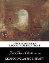 Descripción de la serranía de Zacatecas