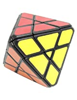 Lanlan Four-axis Octahedron Cube Puzzle . Black