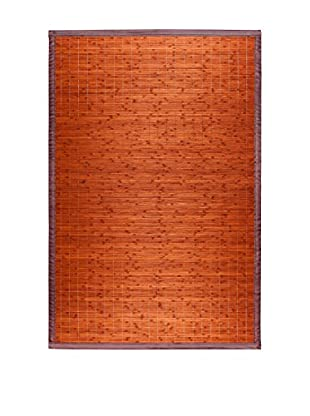 Oriental Alfombra Bambú Chocolate