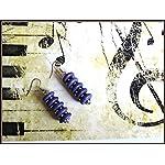 [E17M_001] Blue Magic Earrings