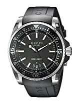 Gucci Men's YA136204 Gucci Dive Analog Display Swiss Quartz Black Watch