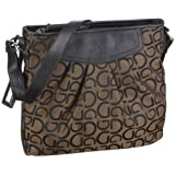 Gabor ENRICA Handtasche, braun 0675 29, Damen Umhngetaschen 28x26x5 cm (B x H x T)
