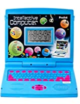 Prasid English Learner Kids Laptop Notebook Gift - Toy Intellective Computer, Blue