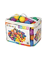 6 Assorted Colors Fun Ballz With Carry Bag