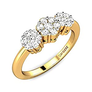 The Tri-Flowers Diamond Ring