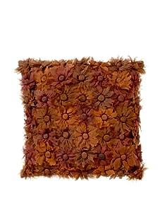 Aviva Stanoff Blossom Decorative Pillow (Chocolate)