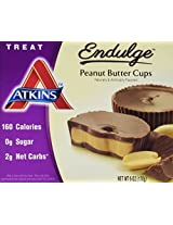 Endulge Bar Chocolate Peanut Butter Cups, 1.20 Ounces