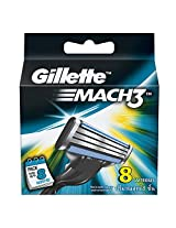 Gillette Mach3 Refill - 8 Count