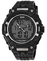 Q&Q Regular Analog-Digital White Dial Mens Watch-GW80-003