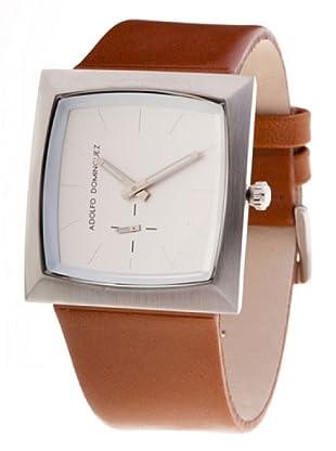 Adolfo Dominguez Watches 63061 - Reloj de Caballero cuarzo correa piel Marrón