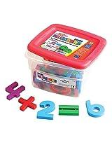 Educational Insights Jumbo MathMagnets- Multicolored (Set of 42)