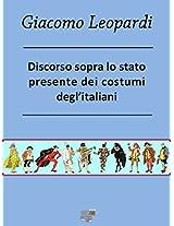 Discorso sopra lo stato presente dei costumi degl'Italiani (Maree)