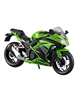 Aoshima Skynet 1/12 Finished Bike Kawasaki Ninja250 Lime Green Se(Japan Import)