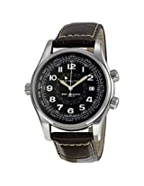 Hamilton Khaki Navy Utc Black Dial Men'S Watch - Hml-H77505535